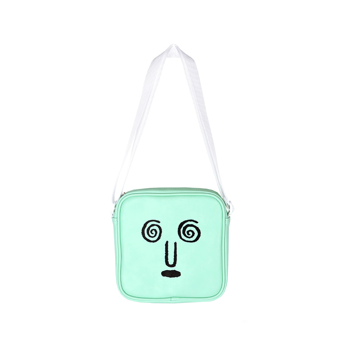 [SS18 NOUNOU] Face Shoulder Bag(Mint) STEREO-SHOP