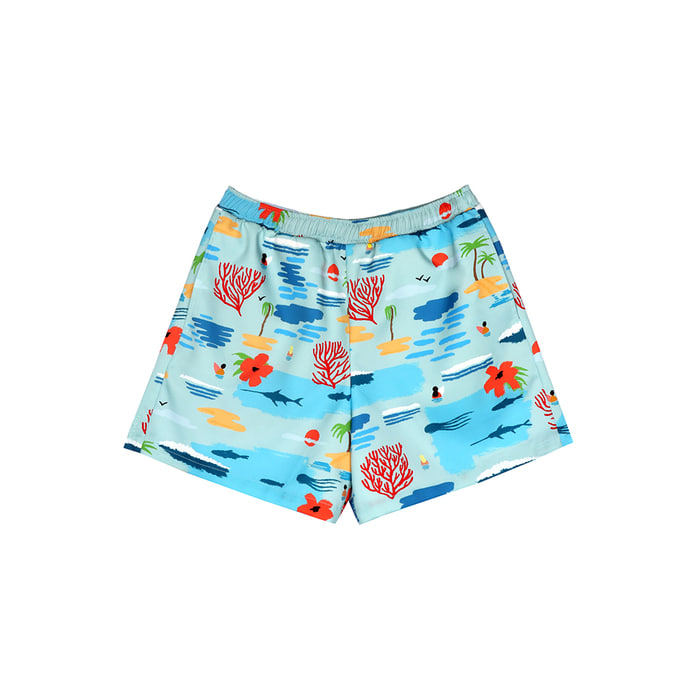 [SS18 NOUNOU] Ocean Short Pants(Blue) STEREO-SHOP