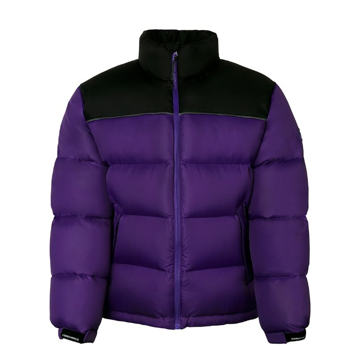 [FW18 SCS] Stereo Basic Goose Down Parka(Purple) STEREO-SHOP